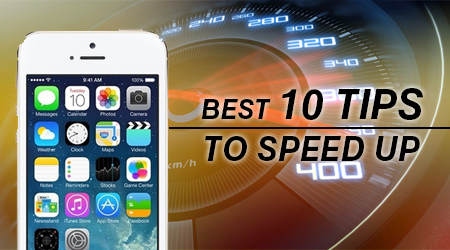 speed up iphone